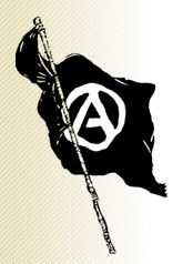 drapeau noir de l'anarchie